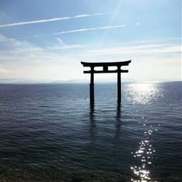 freetoedit 滋賀県 白髭神社