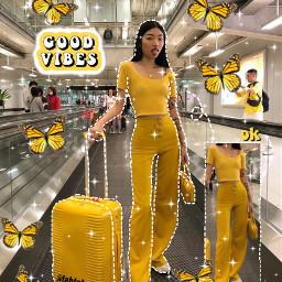 editedbyme yellow yellowtheme vibin aesthetic freetoedit