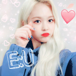freetoedit eu everglow evergloweu jiwon