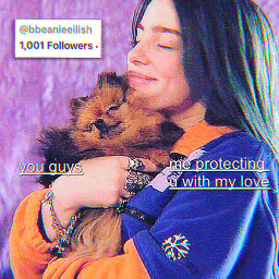 thankyou 1000 1000followers billieeilish billie