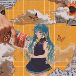 freetoedit miku anime aesthetic mikuedit