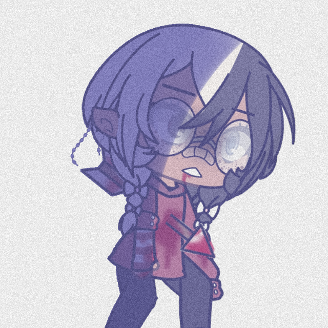 8: wounded  •••  tragic backstory vibes amirite- :)  ••• lol this doesn't actually happen doe sO-   ••• #gacha #gachalife #gachaedit #oc #occhallenge