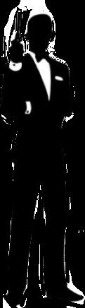 agente007 agent007 agent blackandwhite silueta freetoedit