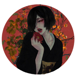 freetoedit japanese art red rose