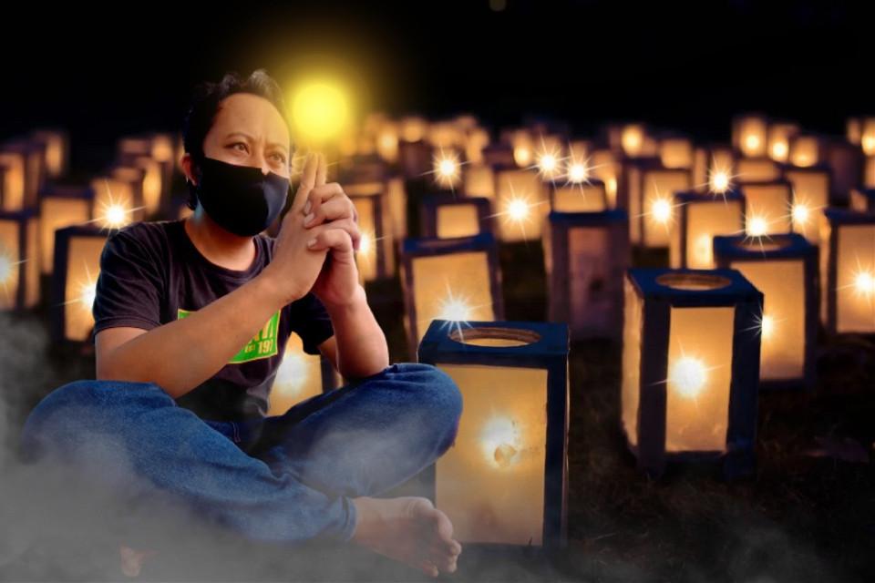 Lampion #freetoedit #lampion #lampu #malam