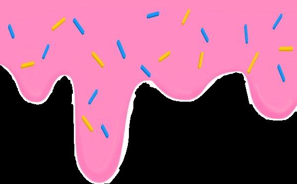 #freetoedit #doughnut #dough #sweet #drip #dripping #trendy #pink #overlay #trend