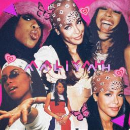 freetoedit aaliyah music 90s pink