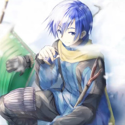 anime boy art