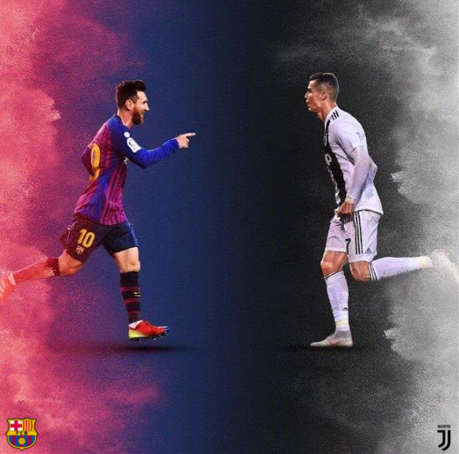 #freetoedit #soccer #messi #ronaldo Pick your player (found this thought is was pretty cool to add extra touches)