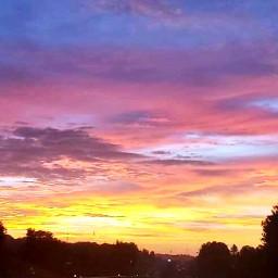 freetoedit sunset skylover naturephotography myhometown
