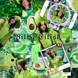billieeilish billieeilishedits green complex