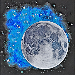 background moon lune nuit aestheticmoon freetoedit