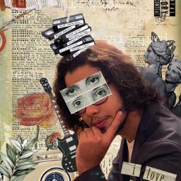 collageartist collageart collagemaker artisticportrait freetoedit