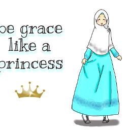 freetoedit digitalart muslimah princess
