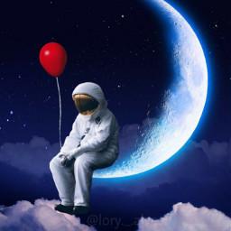 freetoedit astronaut astronalta lua ceu