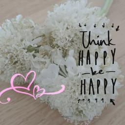 flowers whiteflowers thinkhappy behappy sundayvibes