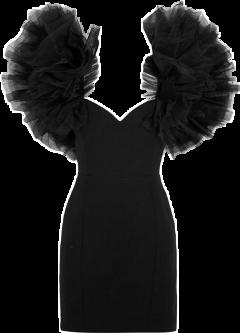 платье черноеплатье маленькоечерноеплатье одежда платьице score day freetoedit
