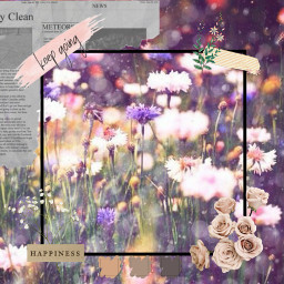aestheticflowers wild sparkly freetoedit