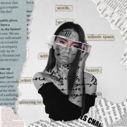 freetoedit newspaper girl newspaperrip paperrip