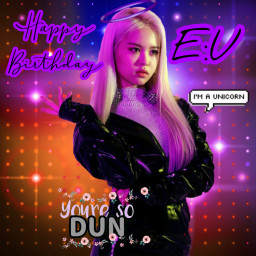happybirthday everglow eu forever freetoedit