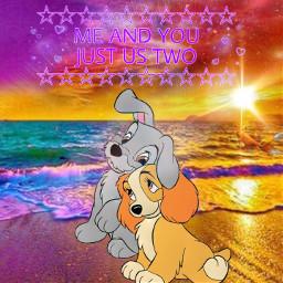 freetoedit couple dogs love dogslove