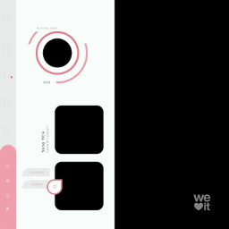 frame pink overlay edit