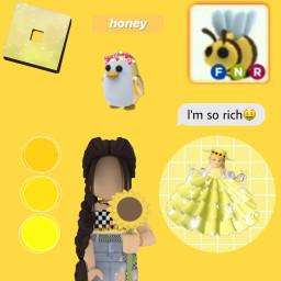 freetoedit robloxedit yellow rich