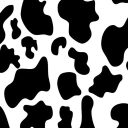 cowprint cow blackandwhite print remix freetoedit