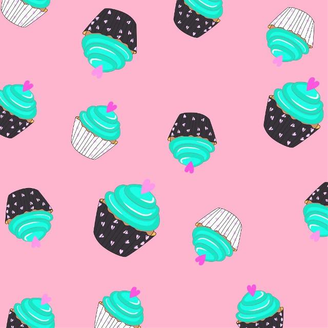 #freetoedit #cupkake #cupkakes #fondostumblr #fondantcupcakes #fondosdepantalla #fondos #magdalenas #colorful #colors #corazones