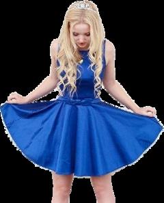 dovecameron blue girl freetoedit