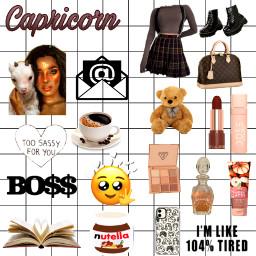 zodiac capricorn freetoedit