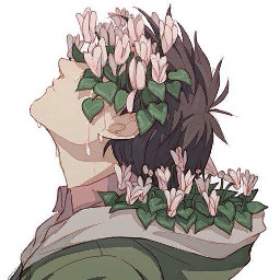 sad anime boy art freetoedit