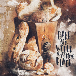 art fantasy foodislove bread magical dreamy stestyle ste2020 madewithpicsart love