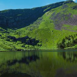 nature mountain lakes