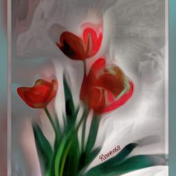 freetoedit roses flower mural