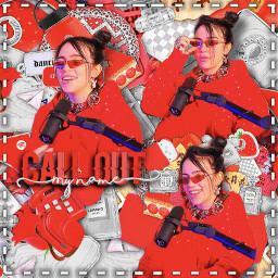 bil billie eilish red aesthetic