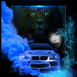 freetoedit car bmw blue girl