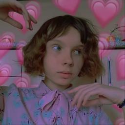 freetoedit кукла кудри розовый сердечки