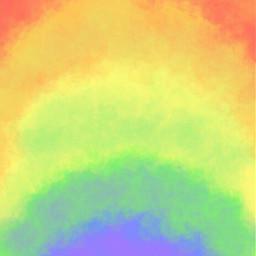 gradient ombre fade rainbow colors