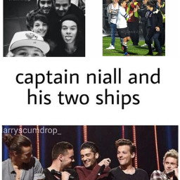 onedirection niallhoran captain harrystyles louistomlinson