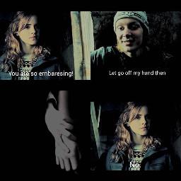 fred hermione fredweasley hermionegranger weasley