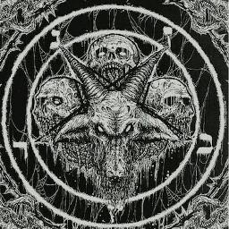 satanic satanico pentagram pentagrama calaveras