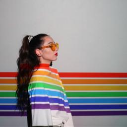 pridemonth girl girls people freetoedit