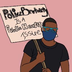 blm blacklivesmatter protest freetoedit