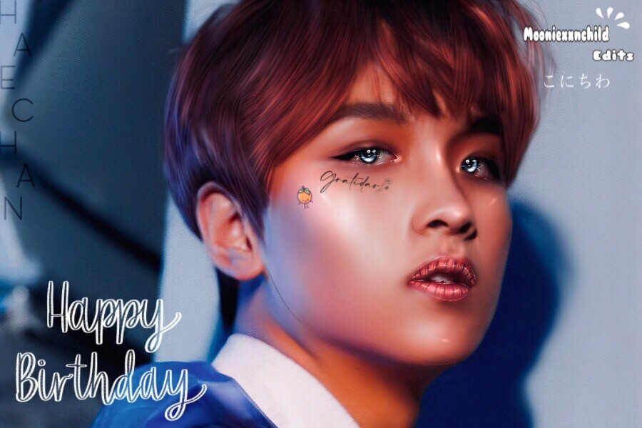 HAPPY BITHDAY HAECHAN     Happy bithday to haechan, my sunshine! ☀️ He just lights up everybodys day and can be really funny. We will support him no matter what he goes through! I hope for the best of him and for behalf of him making fun of doyoung (¬‿¬ )     Happy Haechan Day!    Special tags: @lil_iu @pink_-mochi    Pie tag: @nctzensi   Moonie: @3taetenmochi3   Best person: @_tatae_     Random tags:  @-_-avelon-_-  @kimchungha2054  @_tatae_fan_  @effect_dripping34  @we_were_only_7  @fightforloona  @taekook_my_love  @shanaeveion  @k_muffinedits  @mochimedits  @istanagustd  @yuki_taekook  @im_a_dreamer___  @ani_jeon  @bts-fairytae        Good bye ★~(◠‿◕✿)        #haechan #haechanedit #nct #nct127 #nctdream #happyhaechanday #happybirthday #edit     #freetoedit