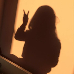 эстетика эстетикаоранжевый аватарка солнце девушка