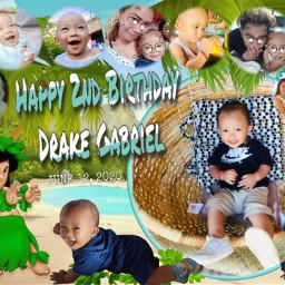 freetoedit drakes2ndbirthday nephew