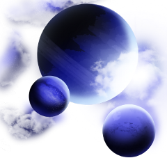 freetoedit space planet overlay background