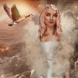 freetoedit challenge forest magical goddess