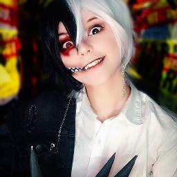 monokuma danganronpa danganronpamonokuma cosplay cosplayer freetoedit